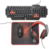 Gembird Ultimate 4-in-1 Gaming kit; US layout