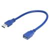 Gembird USB 3.0 A-A csatlakozó hosszabbító kábel; 0.15m