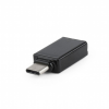 Gembird usb 3.0 to type-c  a-usb3-cmaf-01 fekete adapter