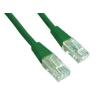 Gembird UTP kat.5e RJ45 patch kábel  0.5m  zöld
