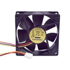 Gembird ventilátor ATX PC házhoz  80x80mm  3-pin  golyóscsapágy hűtés