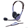 Genius HS-04S stereo headset - fekete-lila