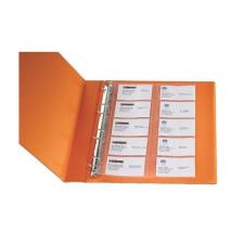 Genotherm A/4 lefűzhető névjegytartó Q-Connect KF15417 16db 110 mikron naptár, kalendárium