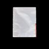 Genotherm, lefűzhető, felül/oldalt félig nyitott, A4, 105 mikron, víztiszta, ESSELTE, piros 100db/csomag
