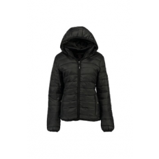 Geographical Norway , Steppelt télikabát, Fekete, 5 (ARECA-LADY-HOOD-001-BLACK-5)