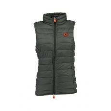 Geographical Norway , Vaynight bélelt mellény zsebekkel, Sötétszürke, 4 (VAYNIGHT-LADY-BASIC-056-DARK GREY-4)