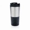 Geometrikus kávéspohár, fekete