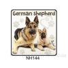 German Shepherd kutyás hűtőmágnes