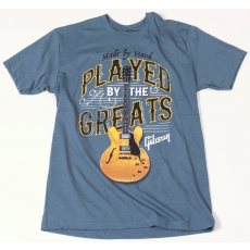 Gibson Played By The Greats T-Shirt Indigo XL