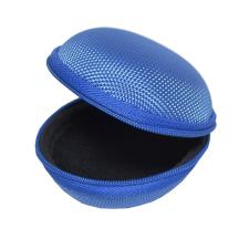 Gigapack Tok textil, cipzáras (fülhallgató, 80 x 30 mm) sötétkék tok és táska