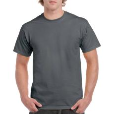 GILDAN 5000 kereknyakú póló dark heather színben