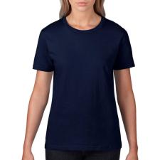 GILDAN Csomag akciós póló (minimum 5 db) Női póló Rövid ujjú Gildan Premium Cotton Ladies RS T-Shirt - M, Sötétkék (navy) női póló