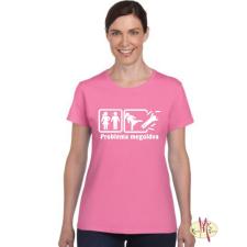 GILDAN Kereknyakú Póló - Probléma megoldva (női) női póló