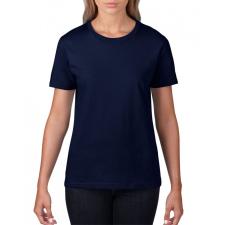 GILDAN , női prémium póló, sötétkék női póló