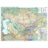 Gizimap Kazahsztán politikai / autós térképe - Új kiadás