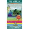 Gizimap Saint Lucia autótérkép