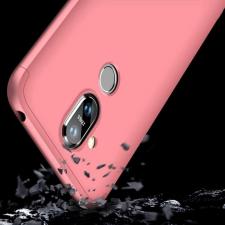 GKK 360 Protection telefontok hátlap tok Első és hátsó tok telefontok hátlap az egész testet fedő Nokia 8.1 / Nokia X7 rózsaszín tok és táska