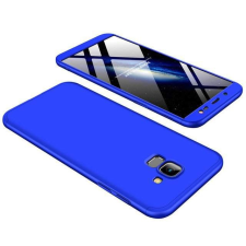 GKK 360 Protection telefontok hátlap tok Első és hátsó tok telefontok hátlap az egész testet fedő Samsung Galaxy J6 J600 2018 kék tok és táska
