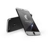 GKK Apple iPhone 8 Plus hátlap - GKK 360 Full Protection 3in1 - Logo - fekete/ezüst