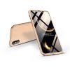 GKK Apple iPhone X/XS hátlap - GKK 360 Full Protection 3in1 - arany