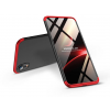 GKK Apple iPhone XR hátlap - GKK 360 Full Protection 3in1 - fekete/piros