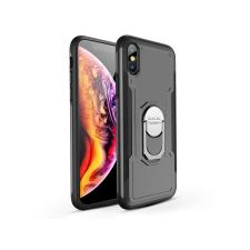 GKK Apple iPhone XS Max hátlap - GKK Armor Full Protection - fekete/szürke mobiltelefon kellék