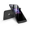 GKK Huawei/Honor 8X hátlap - GKK 360 Full Protection 3in1 - fekete