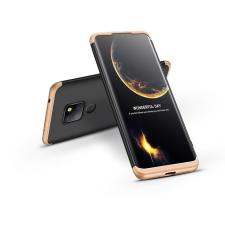 GKK Huawei Mate 20 hátlap - GKK 360 Full Protection 3in1 - fekete/arany mobiltelefon kellék