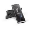 GKK Huawei Mate 20 hátlap - GKK 360 Full Protection 3in1 - fekete/ezüst