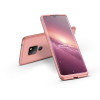 GKK Huawei Mate 20 hátlap - GKK 360 Full Protection 3in1 - rose gold