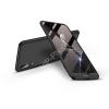 GKK Huawei P20 hátlap - GKK 360 Full Protection 3in1 - fekete