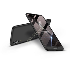 GKK Huawei P20 hátlap - GKK 360 Full Protection 3in1 - fekete tok és táska