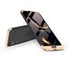GKK Huawei P20 hátlap - GKK 360 Full Protection 3in1 - fekete/arany