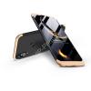 GKK Huawei P20 Lite hátlap - GKK 360 Full Protection 3in1 - fekete/arany