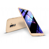 GKK Samsung A605 Galaxy A6 Plus (2018) hátlap - GKK 360 Full Protection 3in1 - gold
