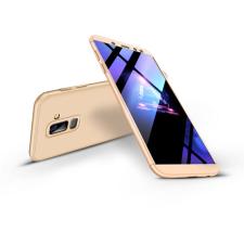 GKK Samsung A605 Galaxy A6 Plus (2018) hátlap - GKK 360 Full Protection 3in1 - gold tok és táska