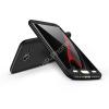 GKK Samsung G935F Galaxy S7 Edge hátlap - GKK 360 Full Protection 3in1 - fekete