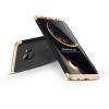 GKK Samsung G960F Galaxy S9 hátlap - GKK 360 Full Protection 3in1 - fekete/arany