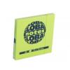 Global Not Öntapadós jegyzettömb 76 x76 mm 80 lapos neon zöld