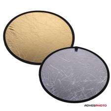 Godox Derítőlap 2in1 80 cm (arany, ezüst) derítőlap