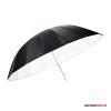 """Godox egy rétegű ernyő féligáteresztő fehér fényvisszaverő fekete külsővel 40"""""""