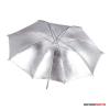 """Godox ezüst reflex ernyő, fekete külsövel 84cm (33"""")"""