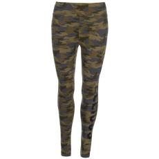 Golddigga női leggings - Golddigga AOP Leggings Ladies Khaki Camo