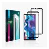 GoldSpin Apple iPhone 11 Pro Max Nano Silk teljes kijelzős üvegfólia, fekete