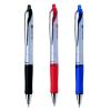 Golyóstoll, 0,28 mm, fém klip, PILOT Acroball piros (BPAB‐25F‐R)