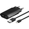 Goobay hálózati adapter 2 x USB aljzat + kábel Apple lightning 1m 2,1A fekete