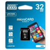 Goodram Memory card with adapter GoodRam M40A-0320R11 (32 GB; Class 4; Adapter)