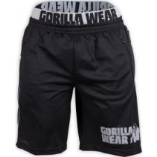 Gorilla Wear California Mesh rövidnadrág (fekete/szürke) (1 db) férfi edzőruha
