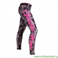 Gorilla Wear CAMO TIGHTS fekete/szürke XS leggings Gorilla Wear