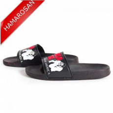 GORILLA WEAR CLASSIC MEN'S SLIDE (BLACK/RED) [41]